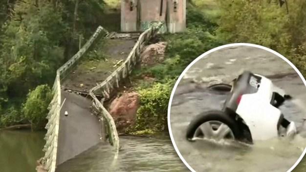 Tragedia en Francia: puente colapsa y todos caen al vacío