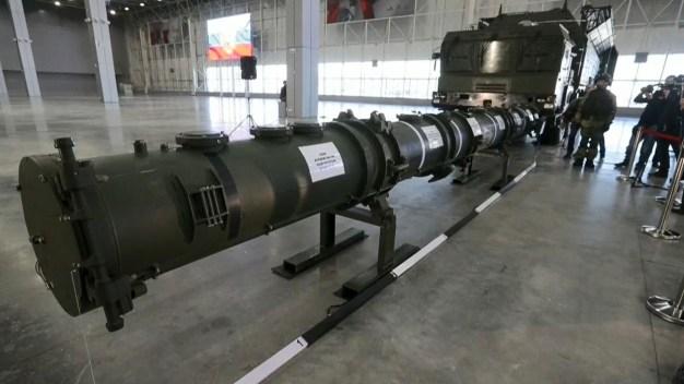 """Más potente y preciso: Rusia presenta misil """"prohibido"""""""