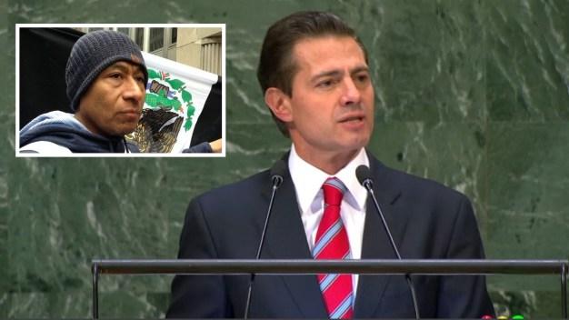 Caso Ayotzinapa emerge tras discurso de Peña en la ONU