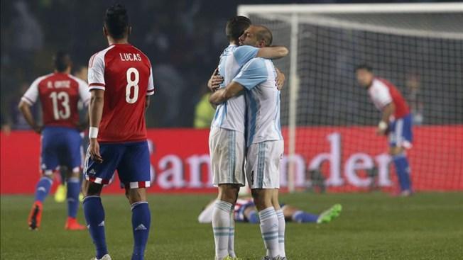 Argentina vence a Paraguay y pasa a la final