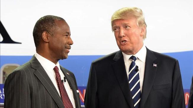 "Trump dice que Carson tiene un ""temperamento patológico"""
