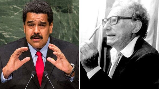 Maduro envía saludo a escritor muerto