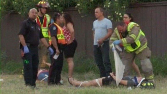 Mujeres heridas en accidente de tránsito en Mission