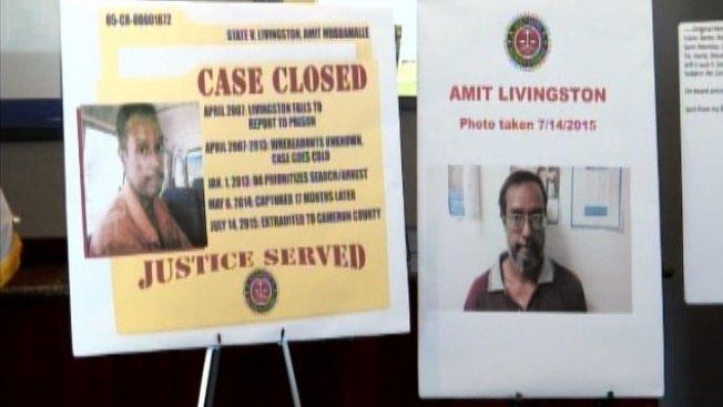 Amit Livingston comienza a cumplir condena