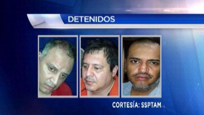 Encuentran $1 millón a arrestados en Matamoros