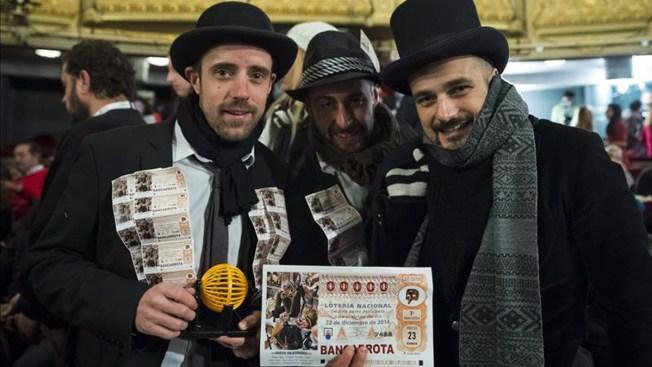 El Gordo paga $3,090 millones en España