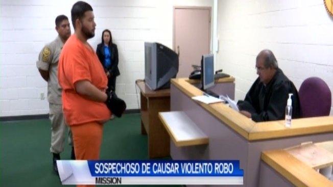 Acusado de robo enfrenta fianza de $50,000