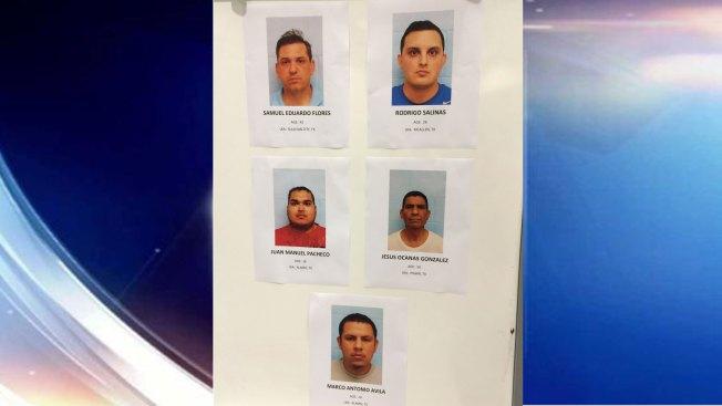 Arrestan a cinco hombres por pedir sexo a menores