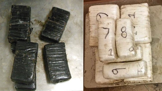 Incautan cargamento de cocaína y metanfetaminas