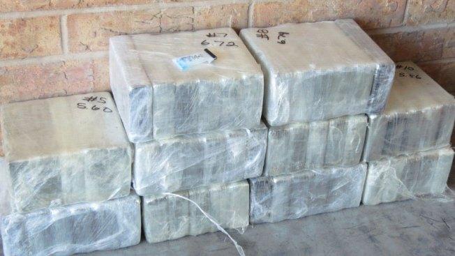 Confiscan 4.3 millones de dólares en cocaína