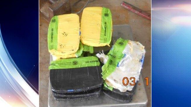 Interceptan cargamentos de heroína y metanfetaminas