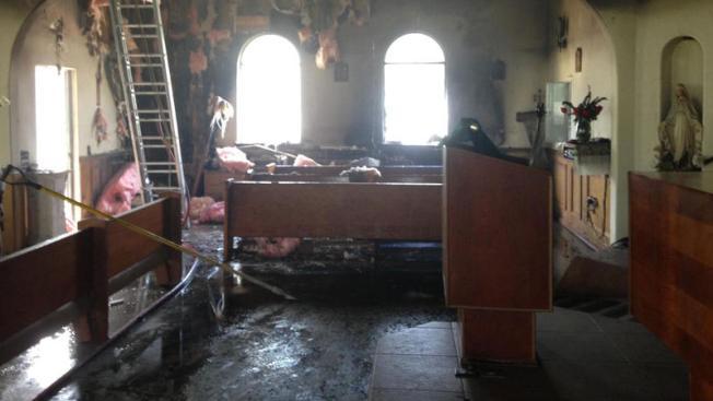 Hay sospechosos por incendios en iglesias