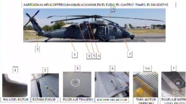 Mueren seis personas al atacar helicóptero