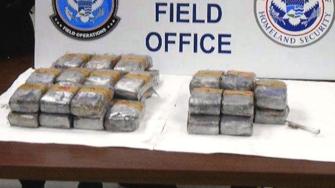 Encuentran más de $1 millón en drogas en carro