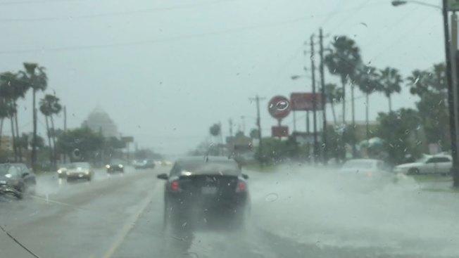 Fuerte tormenta en el condado Hidalgo