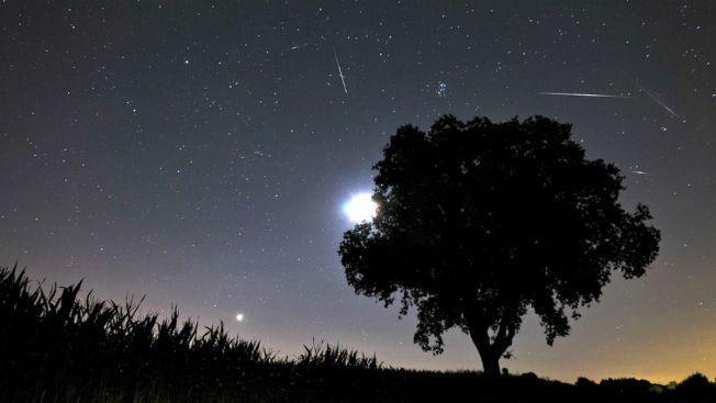 Prepárate para colosal lluvia de estrellas fugaces
