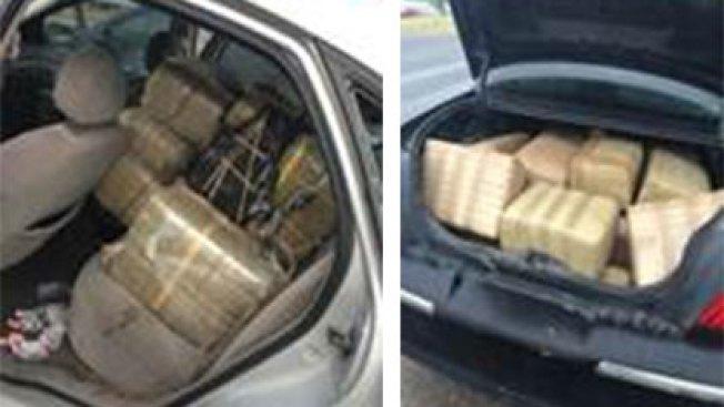 Confiscan 541 libras de marihuana