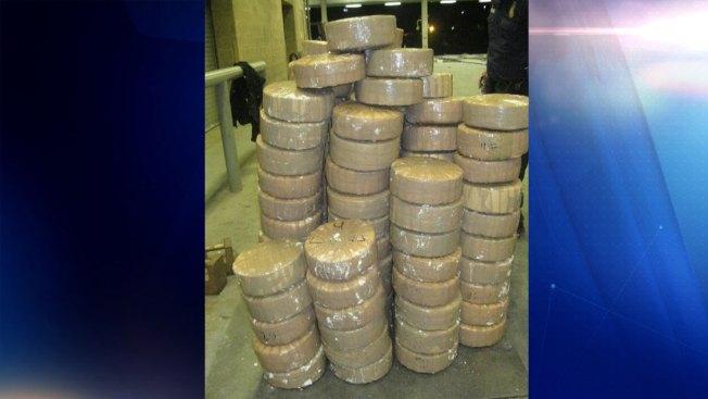 Confiscan $136,905 en marihuana