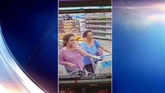 Policía busca a sospechosas de robar en Brownsville