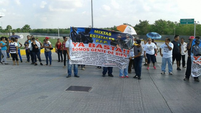 "Protestan por ""abusos"" en Reynosa"