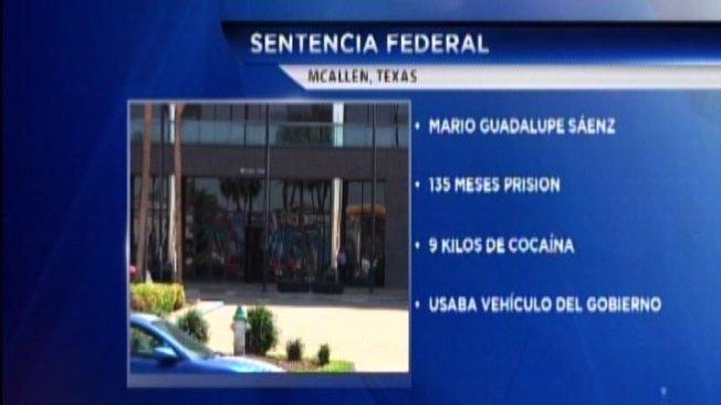 Sentenciado a 11 años en prisión por tráfico de cocaína