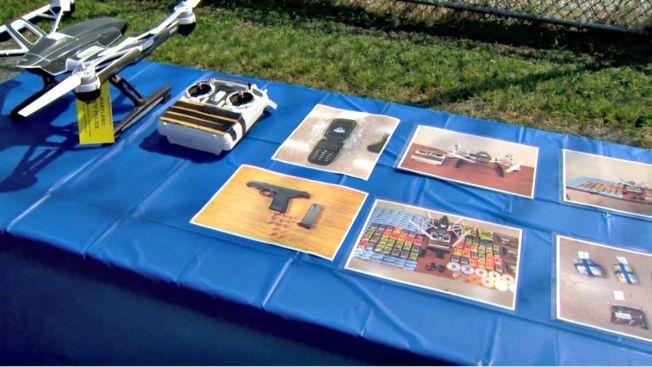 Prisión frustra contrabando en drone