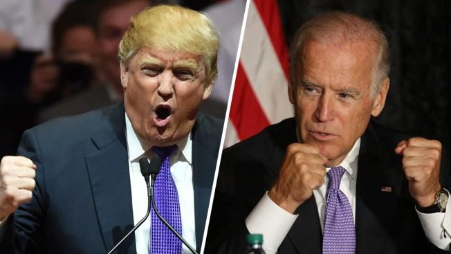 Trump y Biden se desafían a un combate a puños
