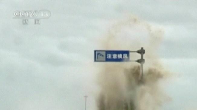Poderoso tifón azota costa suroeste de China