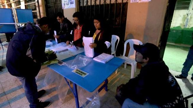 Guatemala: cerraron las urnas e inicia conteo