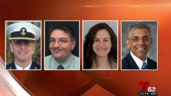 Identifican muertos en accidente de Amtrak