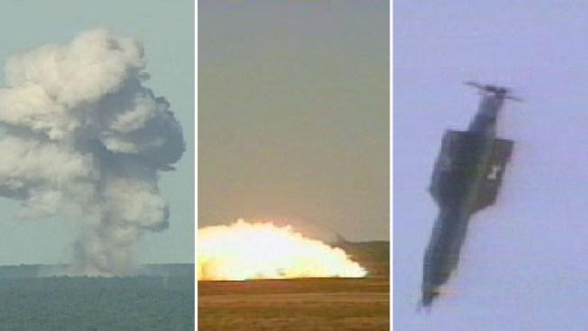 El Pentágono divulga imágenes del lanzamiento de la MOAB en Afganistán