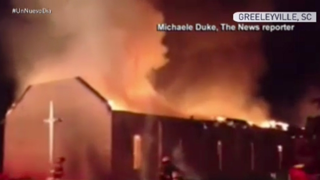 Ya son siete las iglesias incendiadas