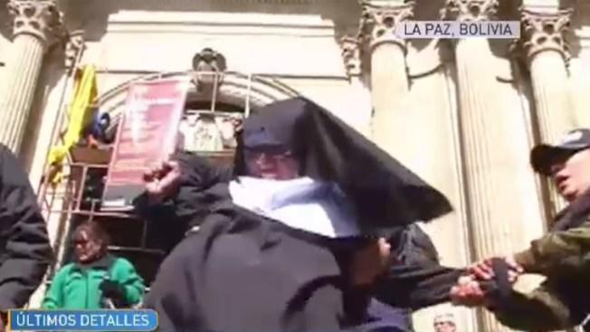 """""""Monjas embarazadas"""" protestan contra el Papa"""