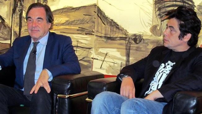 Oliver Stone y Benicio del Toro vuelven a trabajar juntos