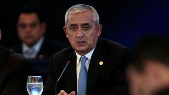 Juez ordena prisión preventiva para Pérez Molina
