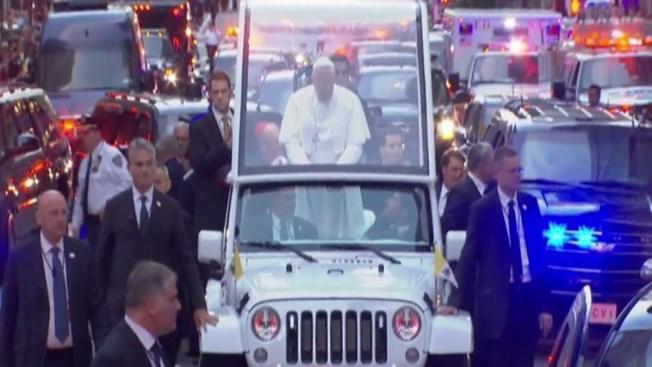 El Papa Francisco visita la Gran Manzana
