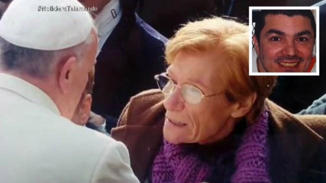 Ruega al Papa por su hijo condenado a muerte