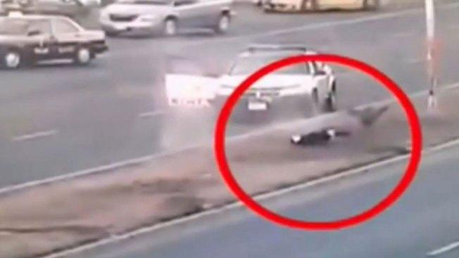 Vídeo capta tiroteo en intento de secuestro