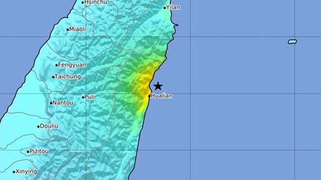 Poderoso terremoto sacude Taiwán y deja heridos