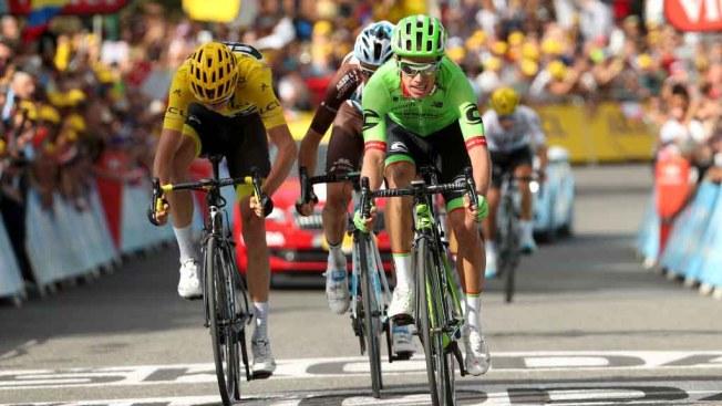 Urán, el tercer colombiano en el podio del Tour de Francia