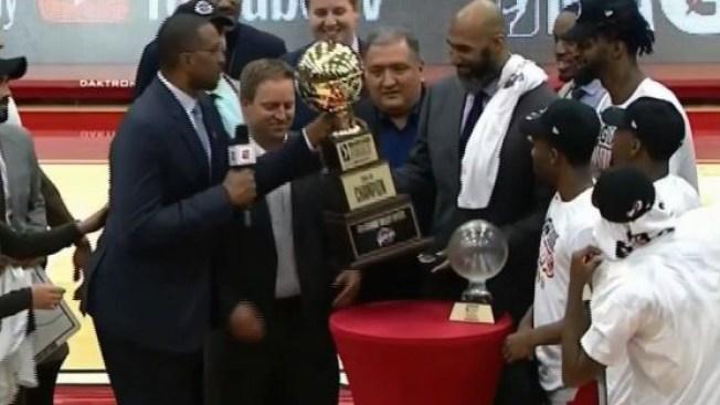 Los Vipers son campeones de la NBA G League