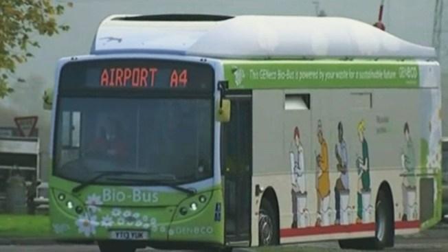Este autobús funciona con excrementos