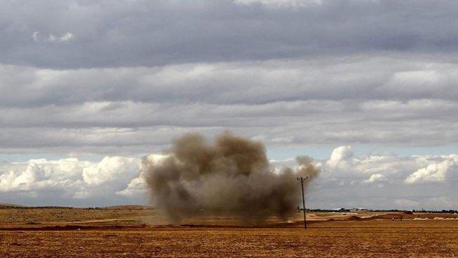 Bombardean puestos de ISIS en Siria