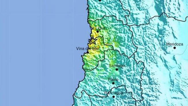 Temblor de 6.4 sacude a Chile