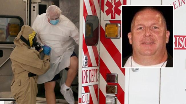 Oficial resultó negativo de ébola
