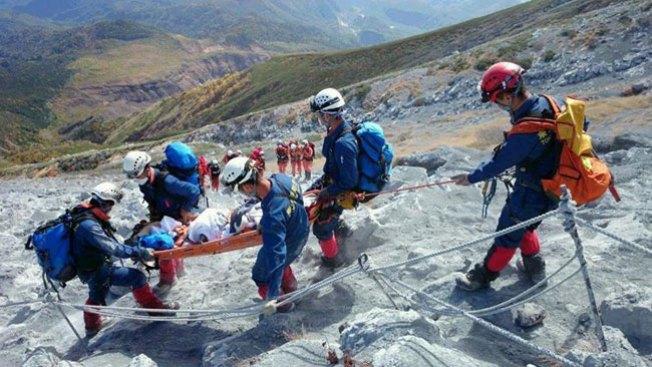 Aumenta la cifra de muertos en volcán