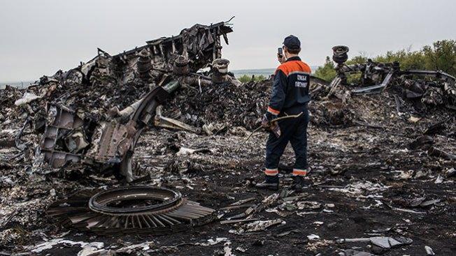 MH17: Avión cayó impactado por objetos