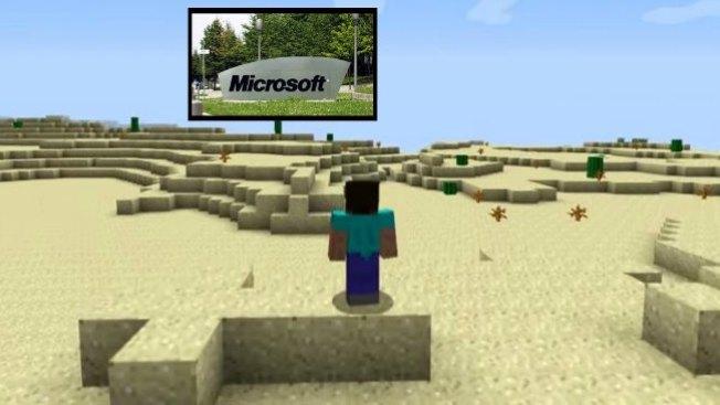 Microsoft compra creador de Minecraft