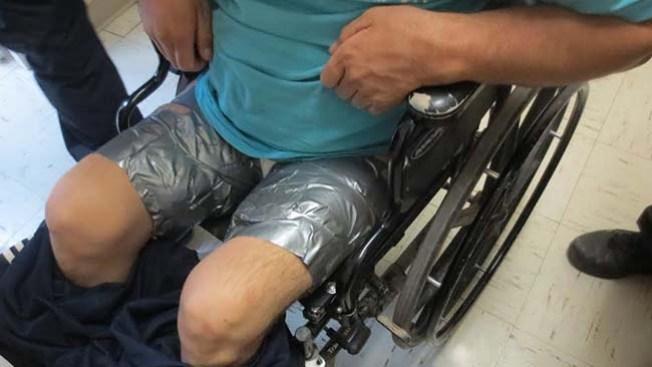 Paralítico escondía droga en sus piernas