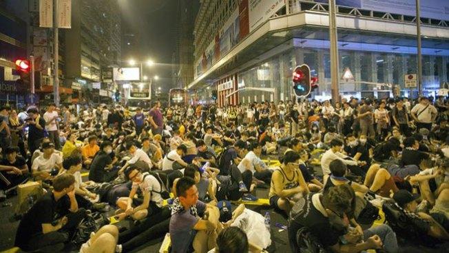Hong Kong: protestas cobran fuerza
